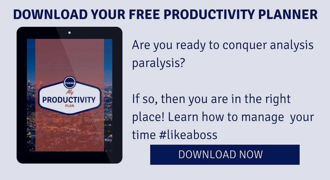 Starengu productivity planner