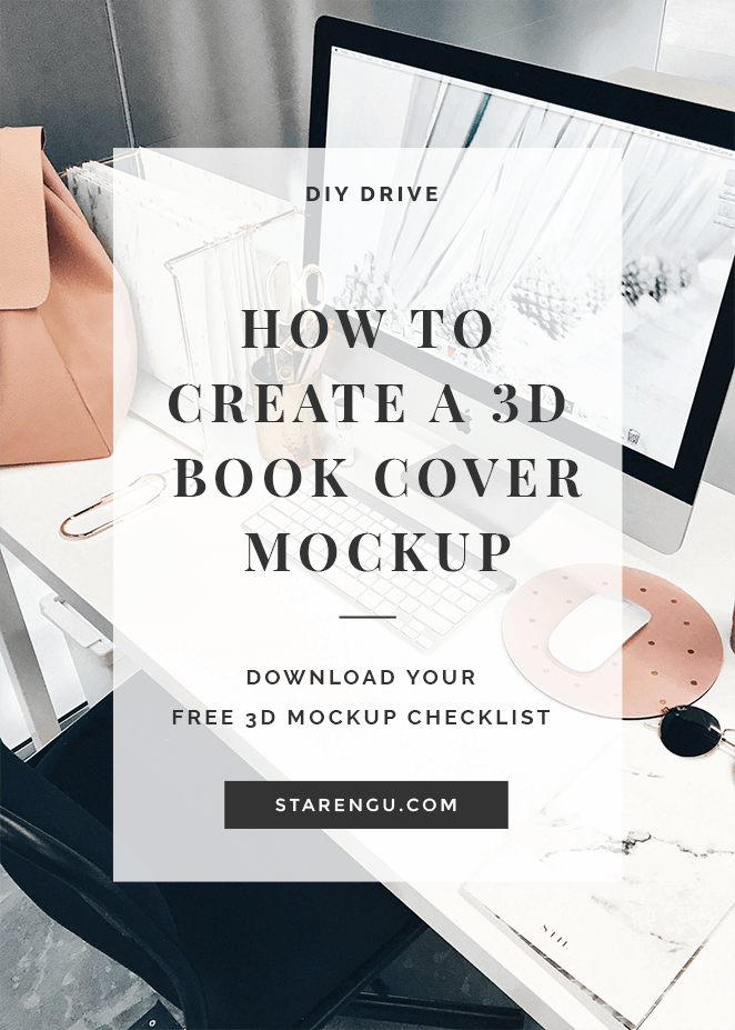 Starengu's How to Create a 3D Book Cover Mockup