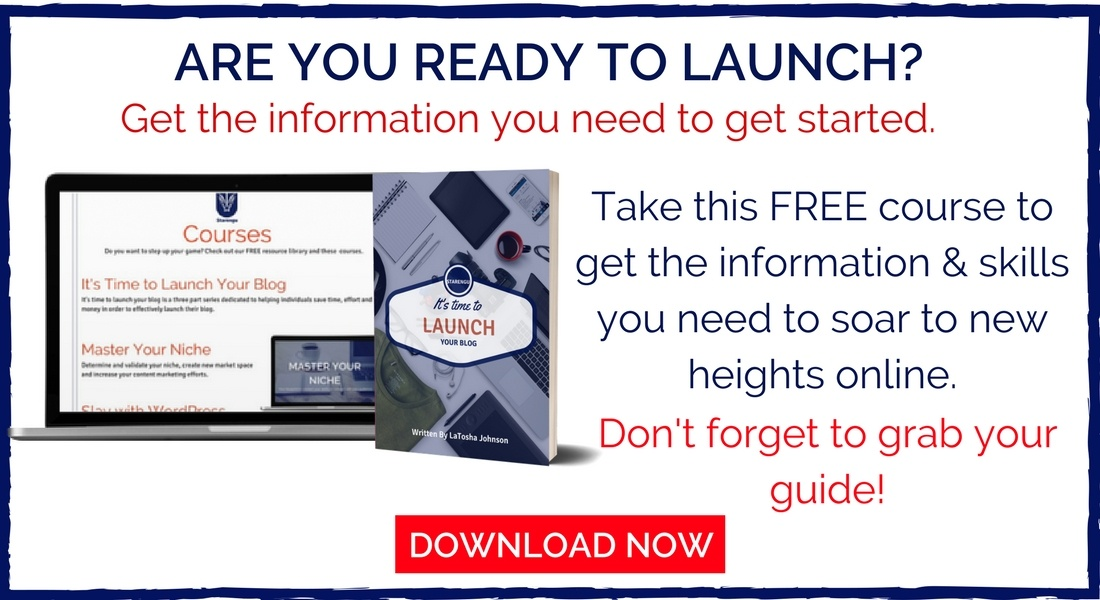 Starengu's It's Time to Launch Your Brand