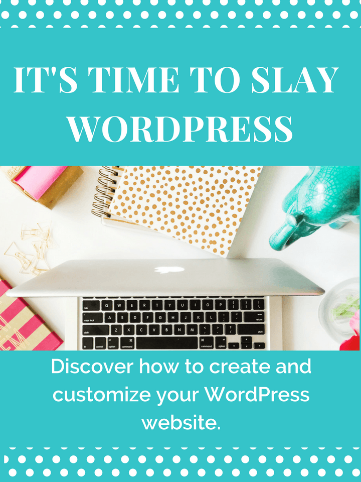 Slay with WordPress