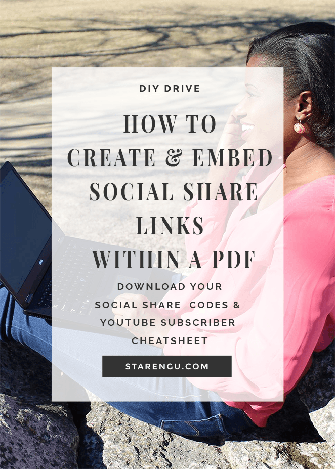 Social Share and Embed Codes