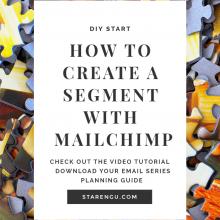 STARENGU'S HOW TO SEGMENT A LIST WITH MAILCHIMP
