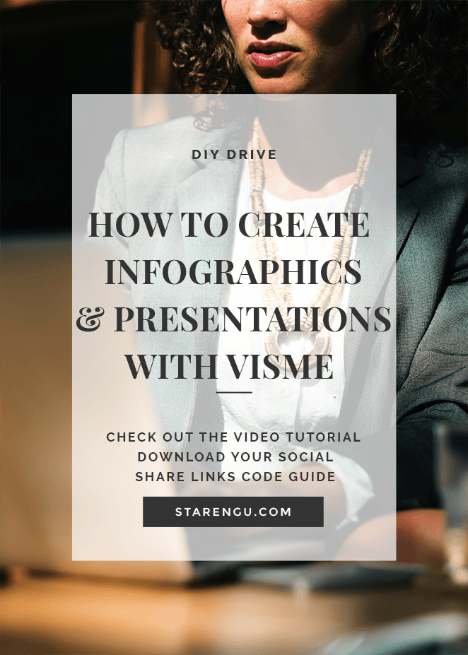 How to Create an Infographic and Presentation with Visme