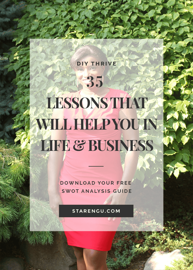 35 lessons that will help you in life and business