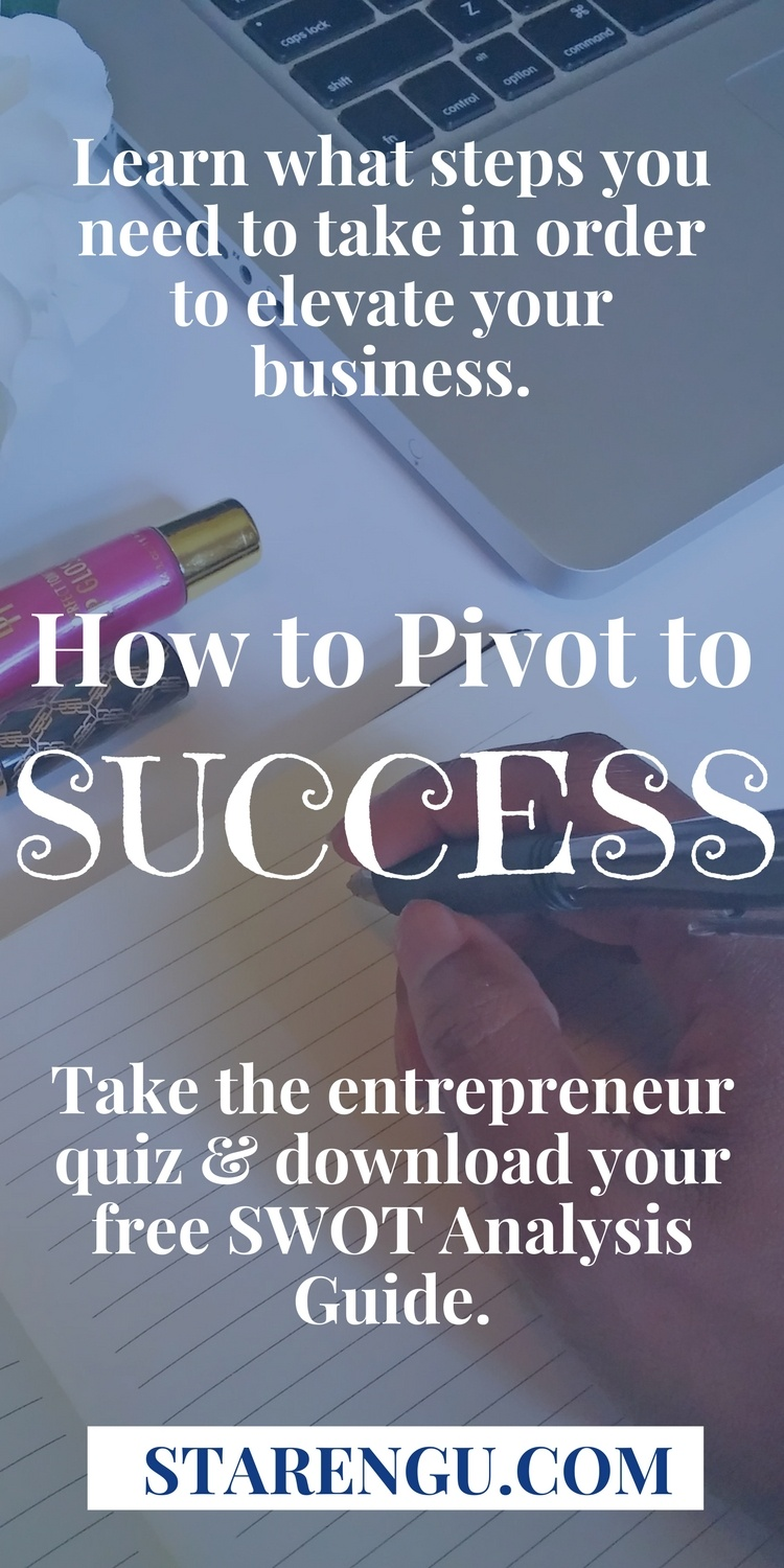 How to Pivot to Success