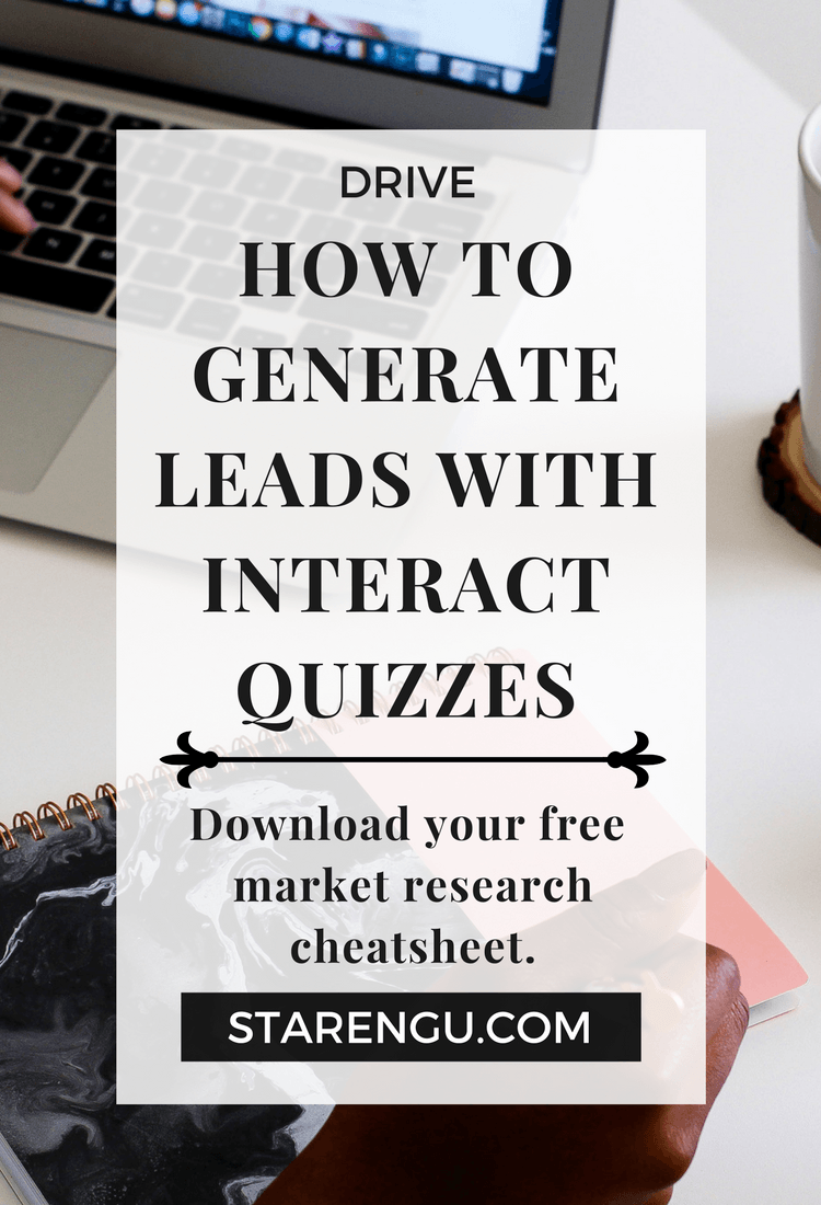 How to effectively generate leads with interact quizzes
