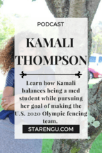 Starengu's podcast with Kamali Thompson