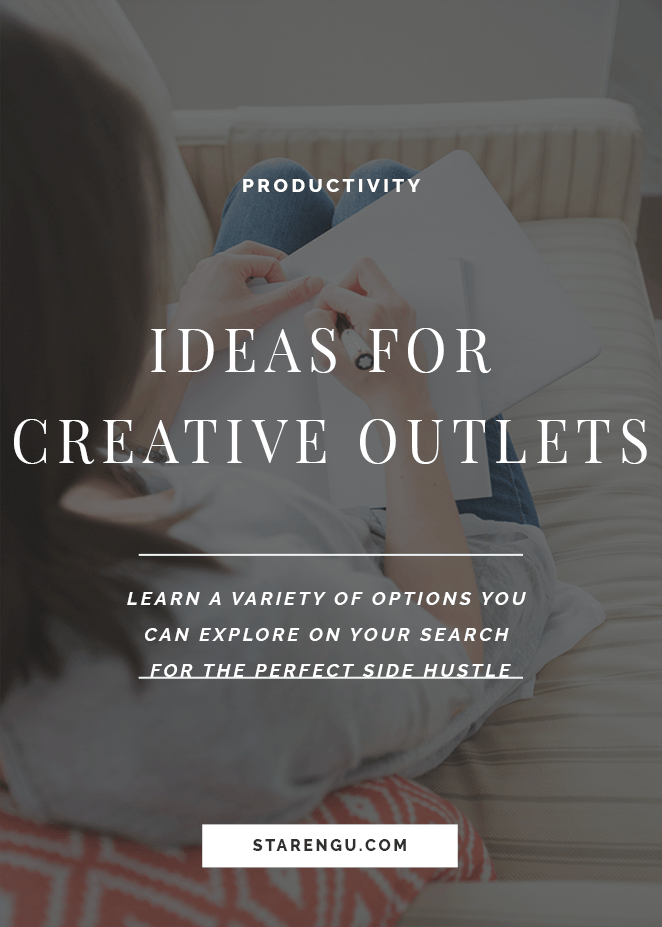 Ideas for Creative Outlets