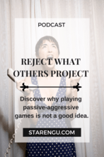 Reject what others project Starengu