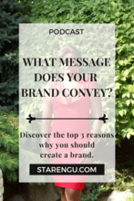 what message does your brand convey