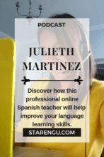 Julieth Martinez-Professional Spanish Teacher