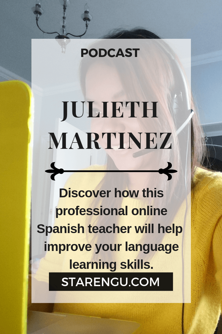 Julieth Martinez-Professional Spanish Teacher