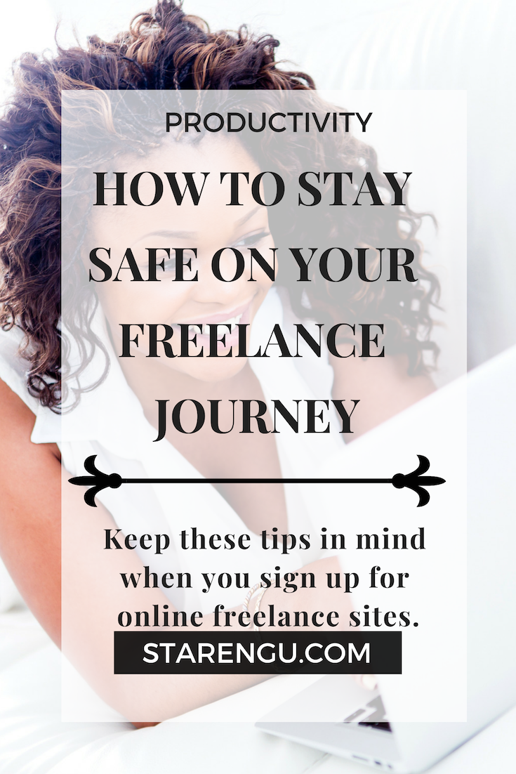How to Stay Safe on Your Freelance Journey